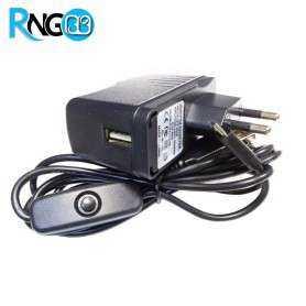 آداپتور 5V-2.5A با کابل USB-Micro مناسب رزبری پای
