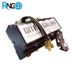 گیرنده 4 کاناله پاور 433MHz قابل ارتقاء تا 12ch مدل 220v