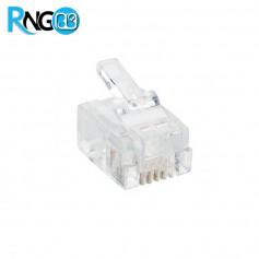 سر سوکت تلفن Rj11 6P4C