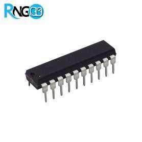 تراشه لچ 74573 - 74HC573 پکیج DIP اورجینال NXP