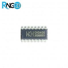 تراشه مبدل USB به سریال CH340G