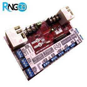 بسته فرستنده و گیرنده 12 کاناله رادیویی 433MHz تایمر دار+ریموت 12Ch