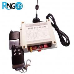 گیرنده 4 کاناله رادیویی 433MHz برد بالا به همراه دو ریموت