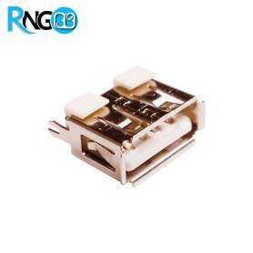 كانكتور USB-A مادگی پایه صاف کوتاه ایستاده