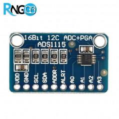 ماژول مبدل آنالوگ به دیجیتال 16 بیتی ADS1110 دارای ارتباط I2C