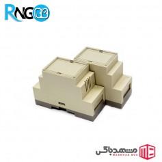 جعبه صنعتی 36x87x60mm مدل 80001 شیاردار