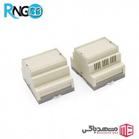 جعبه صنعتی 72x87x60mm مدل 80003 شیاردار