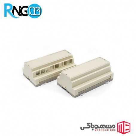 جعبه صنعتی 158x87x60mm مدل 80005 بدون شیار
