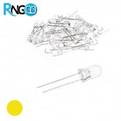 LED لیزری زرد 5mm