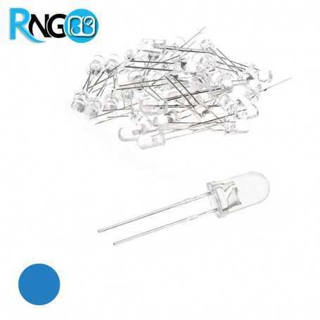 LED لیزری / شیشه ای آبی 5mm