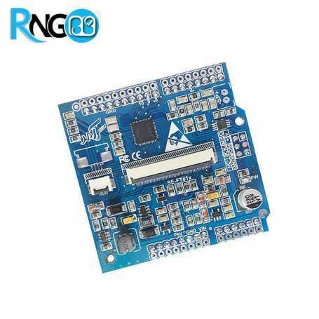 شیلد آردوینو FT811 درایور تاچ خازنی و LCD رنگی سازگار با Mega2560 و Uno