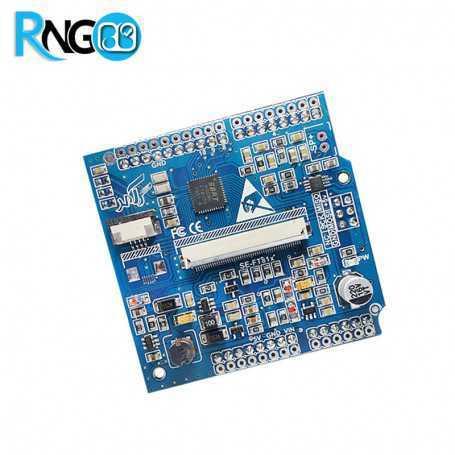 شیلد آردوینو FT810 درایور تاچ مقاومتی و LCD رنگی سازگار با Mega2560 و Uno