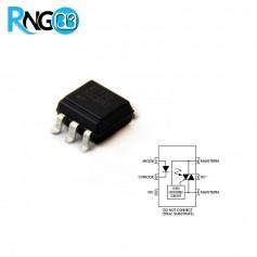 تراشه Optocoupler اپتوکوپلر MOC3063S اورجینال SMD