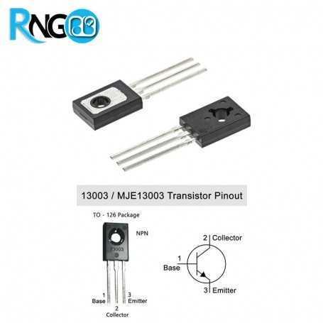 ترانزیستور منفی ST13003 پکیج SOT-32
