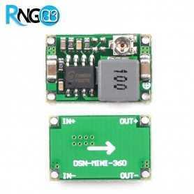 ماژول رگولاتور کاهنده MP2307 قابل تنظیم Mini-360 با 1.8A جریان