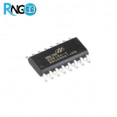 تراشه درایور کلید تاچ Holtek BS818A-2 با 8 کانال ورودی