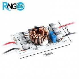 افزاینده 10A 600W با ورودی 10v-60v خروجی 12v-60v