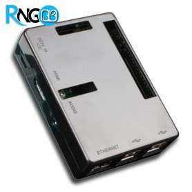 کیس - جعبه مشکی حرفه ای برد Raspberry مدل PI +B و PI 2