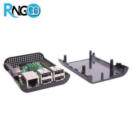 کیس - جعبه مشکی برد Raspberry PI مدل B+ و 2