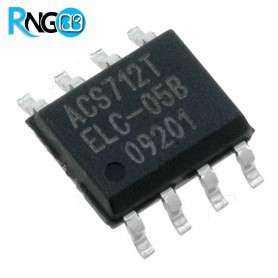 ACS712ELCTR-05B-T سنسور جریان 5 آمپر DCوAC