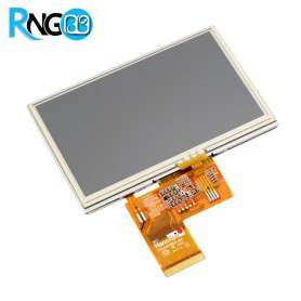 "LCD رنگی ""4.3 TFT به همراه تاچ اسکرین"