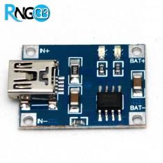 ماژول TP4056 شارژر Mini USB باتری های لیتیومی 1A