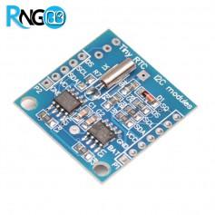 ماژول ساعت DS1307 به همراه حافظه (real-time clock chip)