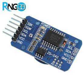 ماژول ساعت دقیق DS3231 با رابط I2C