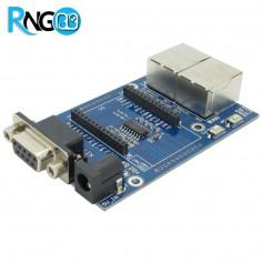 برد سریال به اترنت و وای فای RM04-HLK WIFI UART + آنتن + آداپتور
