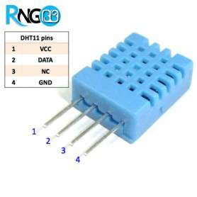 سنسور رطوبت و دما DHT11