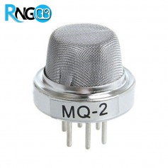 سنسور MQ-2 گاز / دود (هیدروژن، الکل، متان، بوتان، LPG و ...)