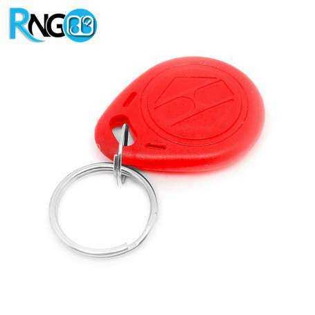 تگ RFID 125KHZ مدل جاسوئیچی قرمز