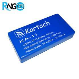 ماژول KA-11 RFID ریدر 125KHz حافظه دار