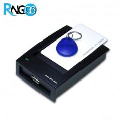 ماژول KA-02 خواننده و نویسنده RFID 125KHZ رومیزی مدل USB دار