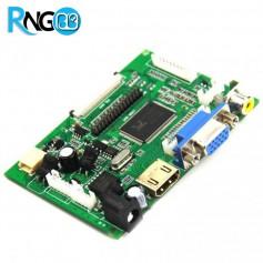 برد درایور LCD با ورودی AV / VGA / HDMI