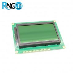 نمایشگر گرافیکی 64x128 GLCD سبز با درایور KS108