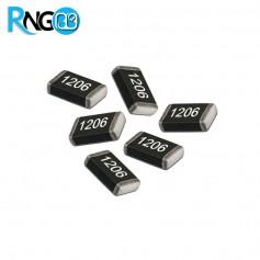 72 رنج پرکاربرد مقاومت های SMD 1206 سری E12 (بسته 50 تایی)