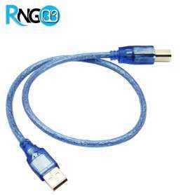 کابل USB A-B (پرینتری) شیلددار 0.5 متری