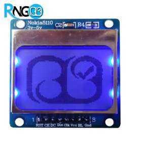 نمایشگر نوکیا 5110 (LCD NOKIA 5110)
