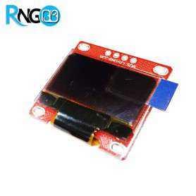 ماژول OLED 0.96 I2C دو رنگ زرد-آبی