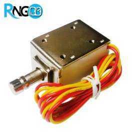قفل الکتریکی 12 ولت XG-01 مدل Push-Pull