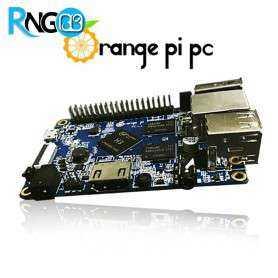 مینی برد ORANGE PI PC با 1 گیگ رم و پردازنده 4 هسته ای