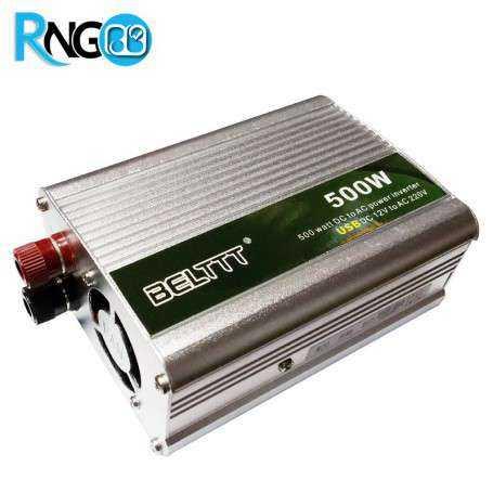 اینورتر (مبدل 12VDC به 220VAC) سوئیچینگ 12V 500W