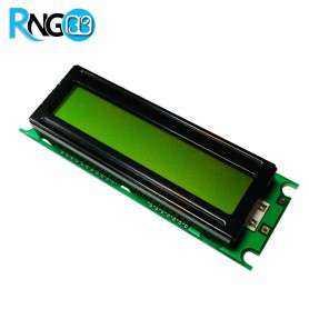 LCD کاراکتری 16*2 سبز (پایه کنار)