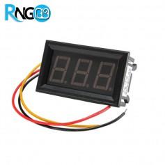 ولت متر دیجیتال VOLT/LED