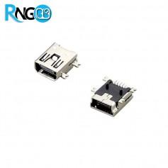 کانکتور USB-Mini مادگی SMD