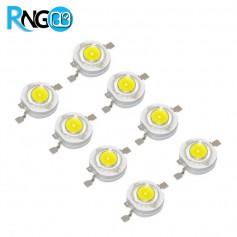 1W LED سفید مهتابی مارک EVERLIGHT (بسته 5 تایی)