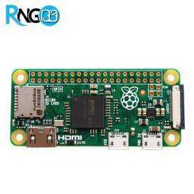 برد رسپری پای صفر Raspberry Pi Zero V1.3 همراه با قاب و هیت سینک