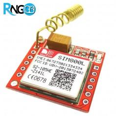 ماژول GPRS / GSM چهار باند SIM800L همراه با آنتن