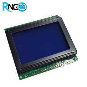 نمایشگر گرافیکی 64x128 GLCD ریز آبی
